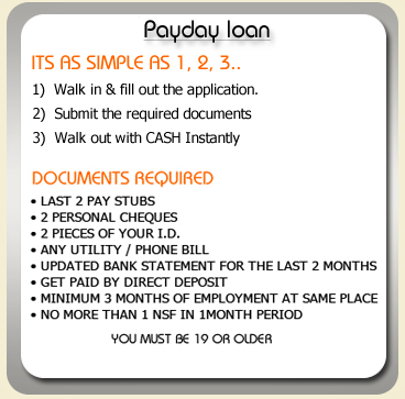Payday loans newmarket ontarion, canada